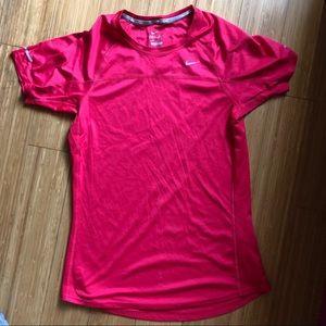 Nike Dri Fit Pink Top Sz S